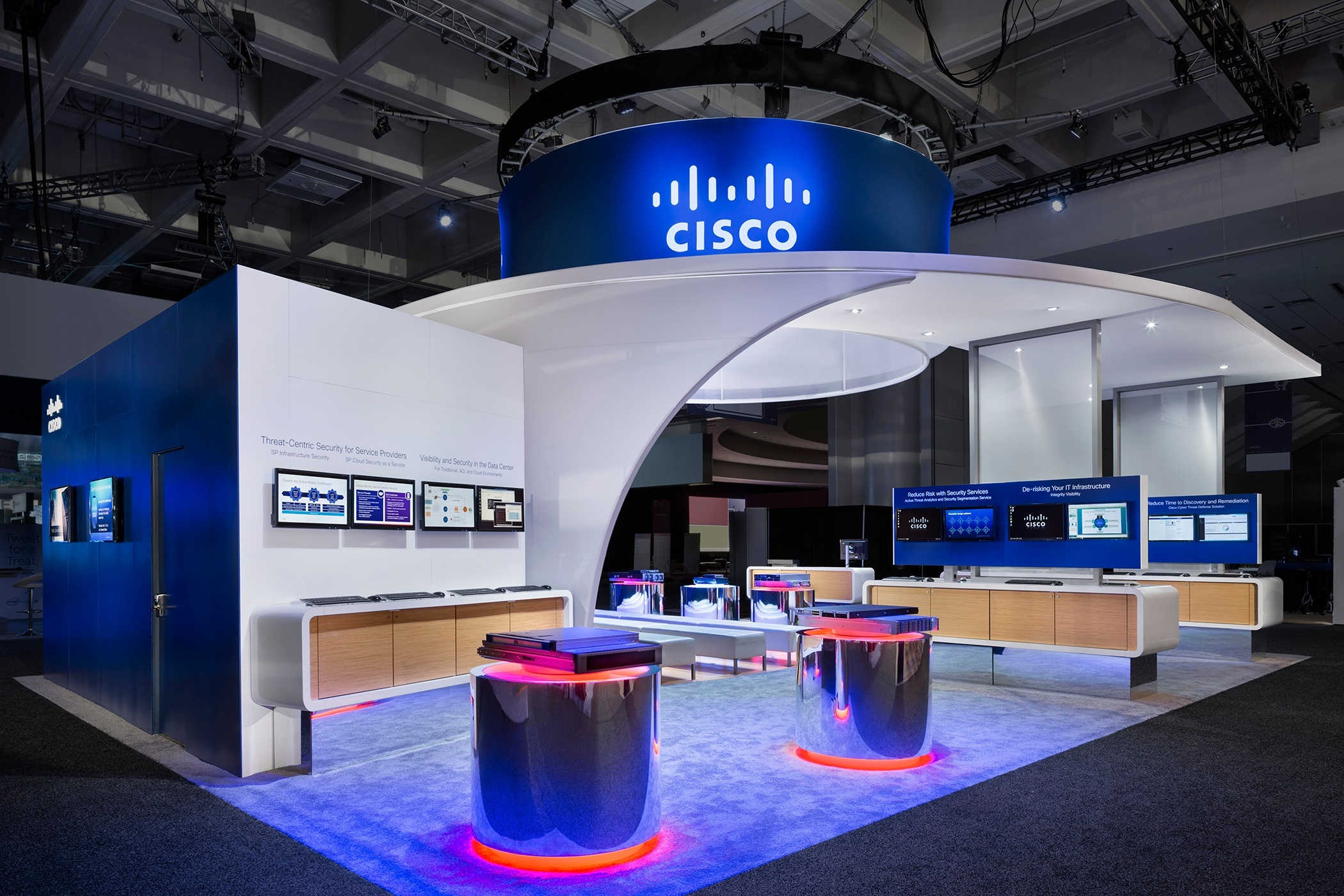 Cisco Live 2013 Exhibition Stand
