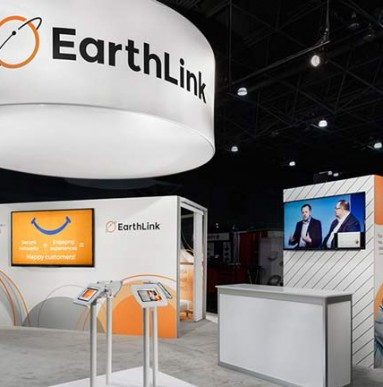 EarthLink Exhibition Stand